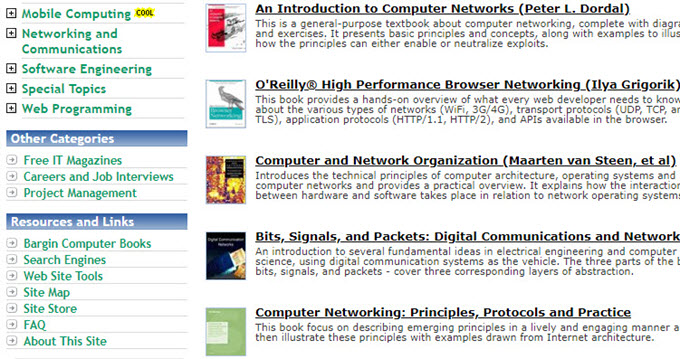 Computer Science Ebook Sites