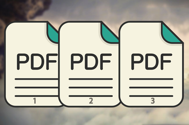 Add PDF Page Number