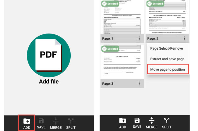 PDF Page Extractor