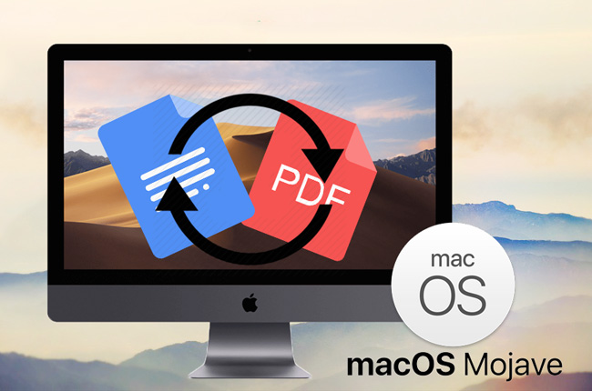 Free PDF Converter for macOS 10.14